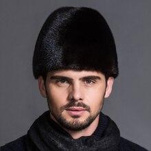 MingJieBiHuo Новое поступление Модная Удобная теплая шапка из искусственного меха Мужская зимняя шапка мужская шляпа джентльмена