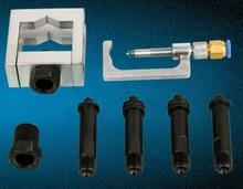 Universal diesel injector de trilho comum ferramentas injector combustível adaptador fixação braçadeira kits reparo para bosch e denso injector
