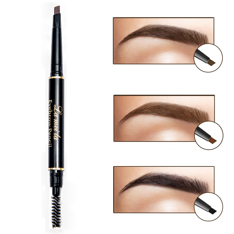 Double ended Eyes Makeup High Quality Eye Brow Pencil With ...