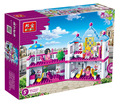 Новый оригинальный Banbao 6111 девушки друзья салон красоты строительный блок устанавливает 382 шт. строительного кирпича игрушки , совместимые с Legoe