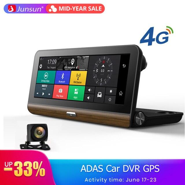 Junsun E31 Pro 4G ADAS Car DVR Camera Wifi Android GPS Navigation 1080P Auto Video Recorder Registrar Dash Cam Parking Monitor