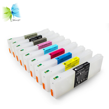 empty cartridge Suitable for Epson Stylus Pro 7910/ 9910 refillable cartridge 700ML T5971-9, T597A, T597B printer Ink cartridges t6361 t6362 t6363 t6364 t6368 empty refillable ink cartridge with reset chip for epson stylus pro 7700 9700 printer 700ml pc