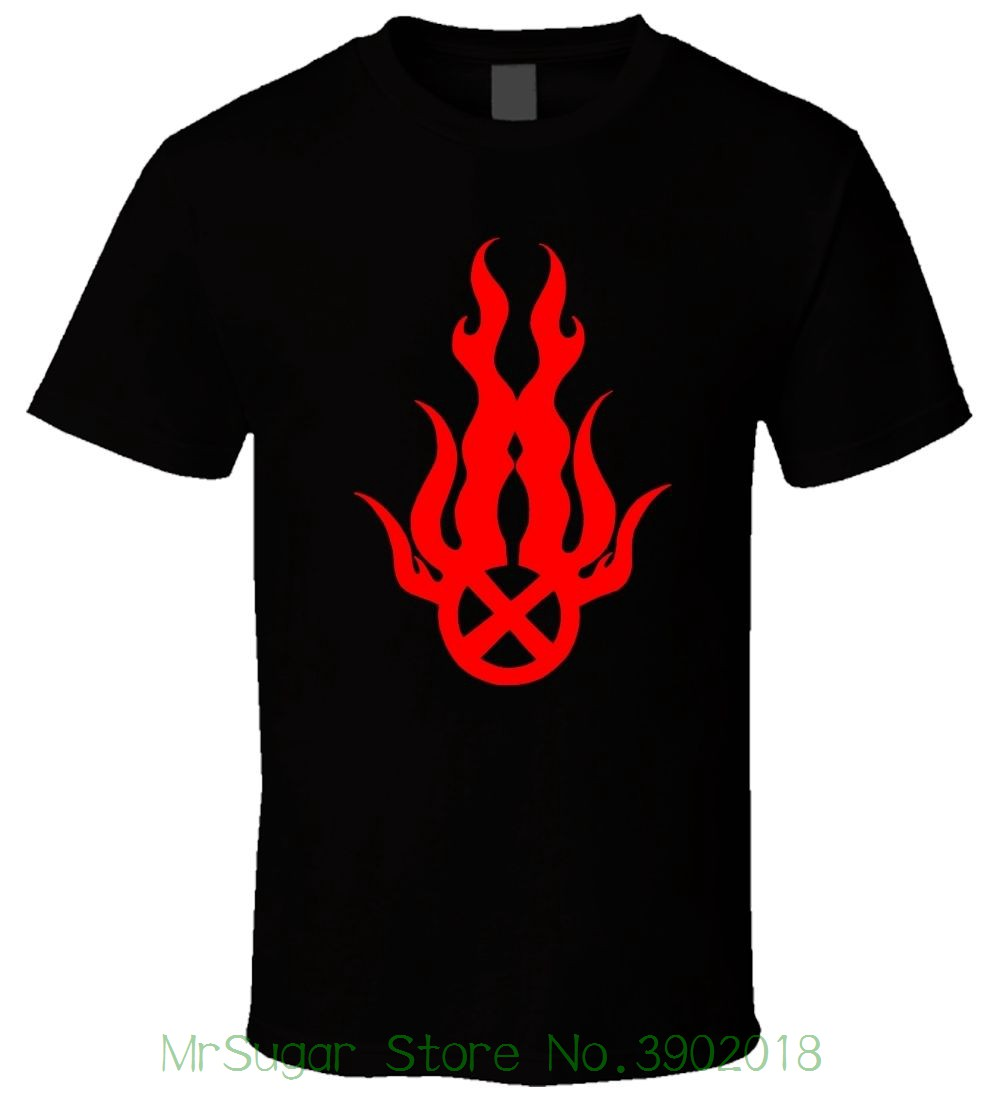 Static X Symbol 1 Black Men T Shirt Size S - 5xl T-shirts 2018 Brand Clothes Slim Fit Pr ...