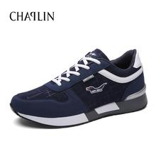 New Hot Selling Men Casual High Quality Shoes Fashion Knitted Fabric Zapatos For Male Lace-up Mixed Colors Comfortable Shoes 399