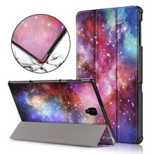 Чехол для samsung Galaxy Tab A 10,5 PU кожаный складной чехол-подставка для samsung Tab A 10,5 «SM-T590/T595/T597 чехол для планшета