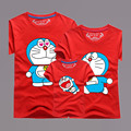 New Jingle Cats Printed T Shirts Cotton O-neck Short Sleeve family matching clothes Summer father baby family set AF1507