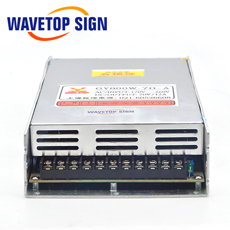 US $41 85 7% OFF|Aliexpress com : Buy MeanWell Switching Power Supply 70V  12A GY800W 70 A 800W Transformer Power Supply for CNC Router Engraving
