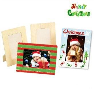 4PCS/LOT.Paint unfinished <font><b>square</b></font> <font><b>picture</b></font> <font><b>frames</b></font>,Photo <font><b>frame</b></font>,Home decoration.Christmas oranment.Wood crafts.Kids toys.19.5x14.5cm