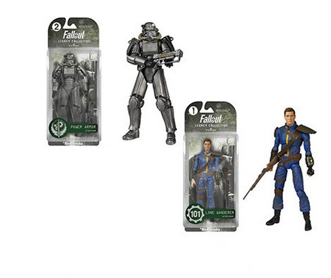 """Fallout 4 PVC Action figure 8"""" Power Armor Out of clothin Toys Great quality Christmas Gift"""
