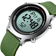 KDM LED Display Watches Men Sport 30m Waterproof Quartz Wristwatch Luminous Chronograph Date Relogios Masculino 0064