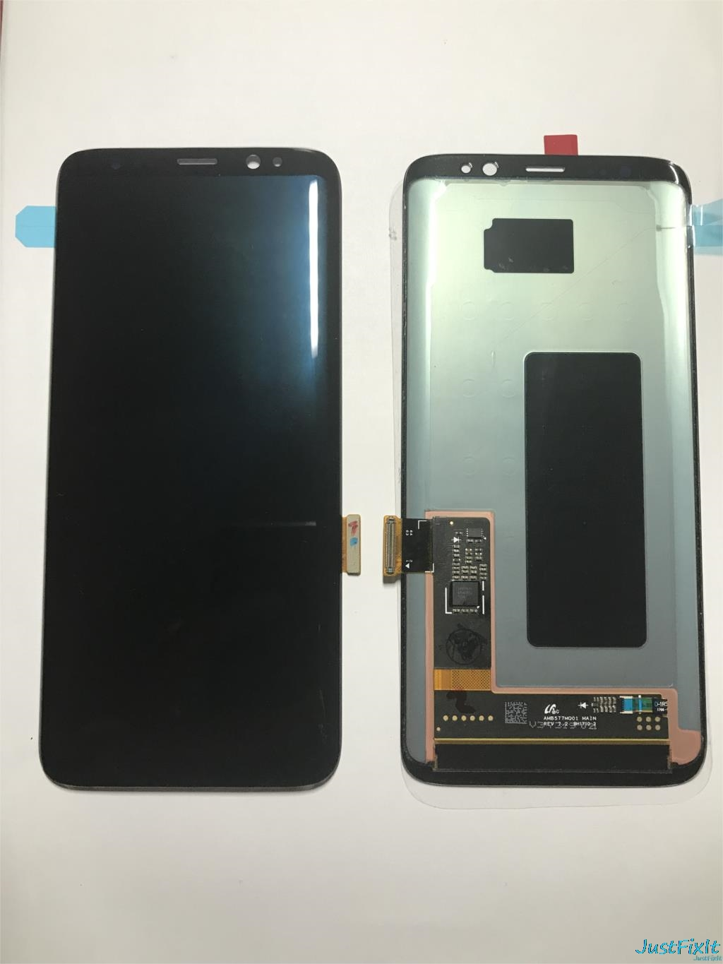 Original For <font><b>Samsung</b></font> Galaxy <font><b>S8</b></font> G950F G950A <font><b>G950FD</b></font> Burn-in Shadow lcd <font><b>display</b></font> with touch screen Digitizer Super AMOLED Screen image
