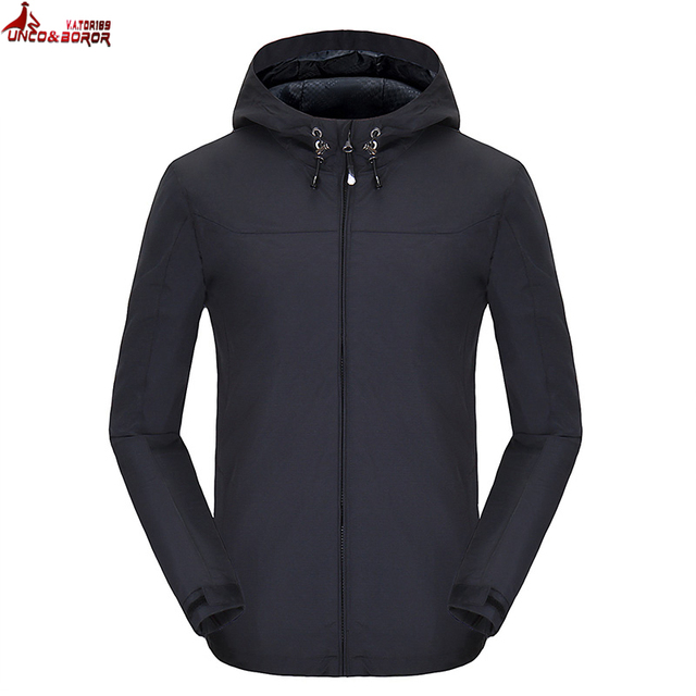 Aliexpress.com : Buy UNCO&BOROR spring autumn Hoodies Windbreaker ...