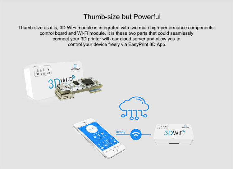 Geeetech 3D WiFi Module Box For 3D Printers 2