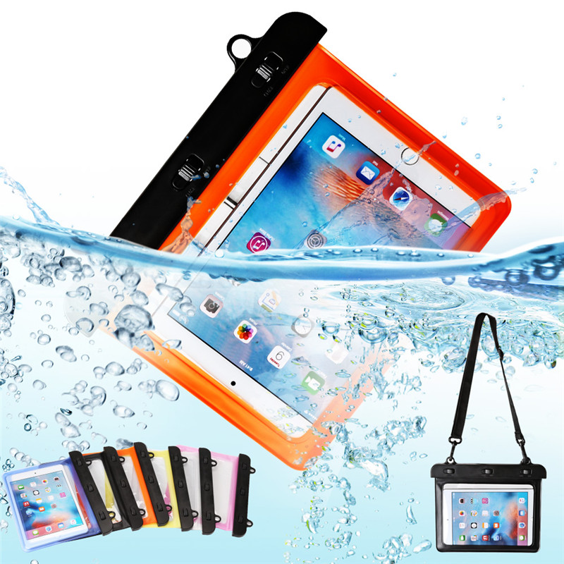 8 Waterproof Dry Bag Water Resistance Pouch Case Cover Protector For I-pad Mini 1 2 3 4 For Lenovo YOGATab2 For Asus MeMO pad 8