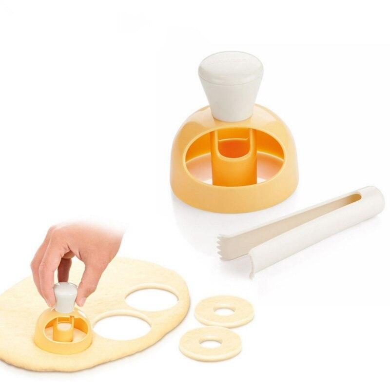 Baking Bakeware Cake Decorating Tools Food Grade ABS Donut Mold Cake Mold Desserts Bread Cutter Maker Baking Mould