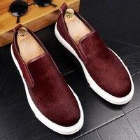 New scarpe uomo cuoio chaussures hommes en cuir luxe men loafer shoes mannen schoenen