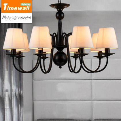 Country Iron Chandelier Nordic Simple European Style Retro Modern Living Room Lamp Lighting Lamp Bedroom Restaurant european style retro glass chandelier north village industrial study the living room bedroom living rough bar lamp loft