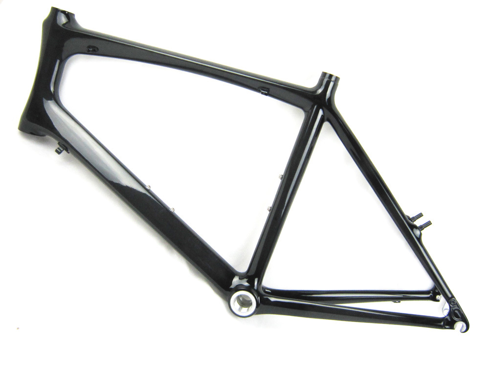 factory price 20inch mini velo full carbon road bike frame with fork grz009 regular bb
