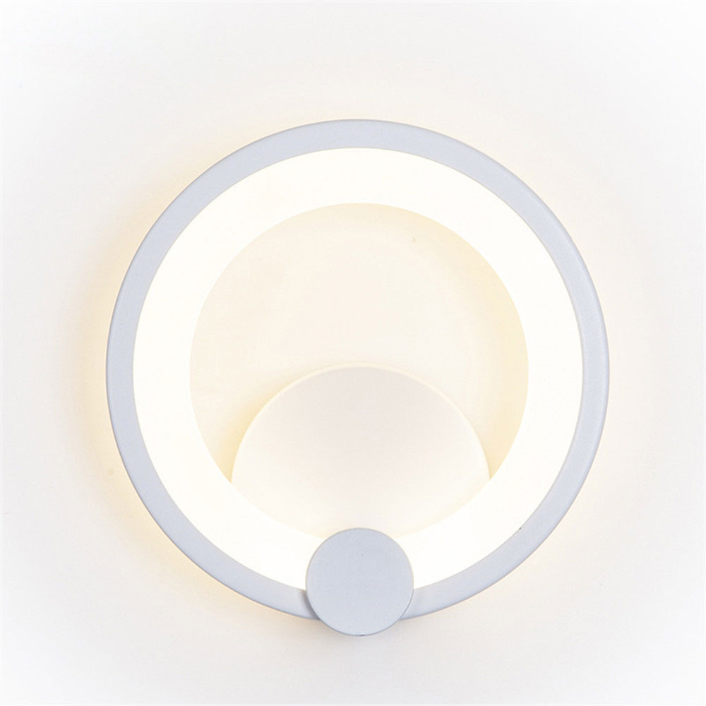 Simple modern creative Nordic American acrylic LED wall lamp hotel bedroom living room bed background sconce AC90V-260VSimple modern creative Nordic American acrylic LED wall lamp hotel bedroom living room bed background sconce AC90V-260V