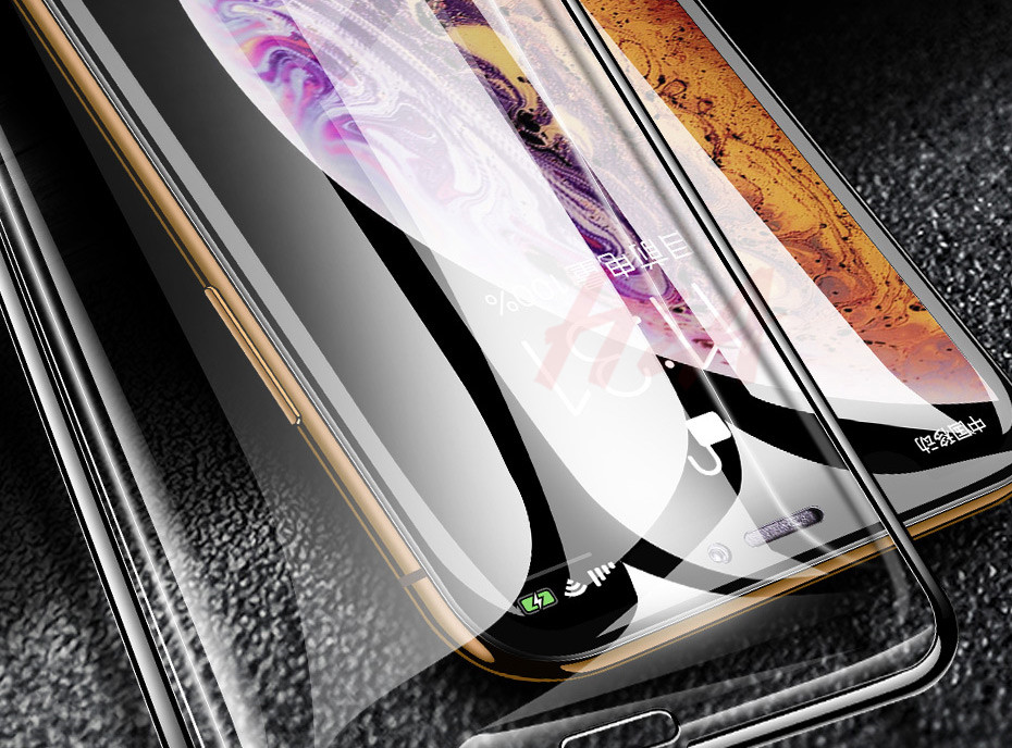 35D Curved Edge Tempered Screen iPhone Protective Glass 8