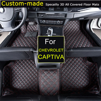 For Chevrolet Captiva 5 7 Seats Car Floor Mats Car Styling Foot Rugs Carpets Custom For