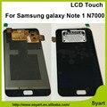 100% тест без пятна идеальный дисплей Сенсорного Экрана Digitizer lcd Ассамблея Полное Для Samsung Galaxy note 1 n7000 I9220 i889