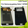 100% test  without spots perfect display Touch Screen Digitizer lcd Assembly Complete For Samsung Galaxy note 1 n7000 I9220 i889