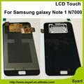 100% teste sem manchas perfeito display lcd touch screen digitador assembléia completa para samsung galaxy note 1 n7000 i9220 i889