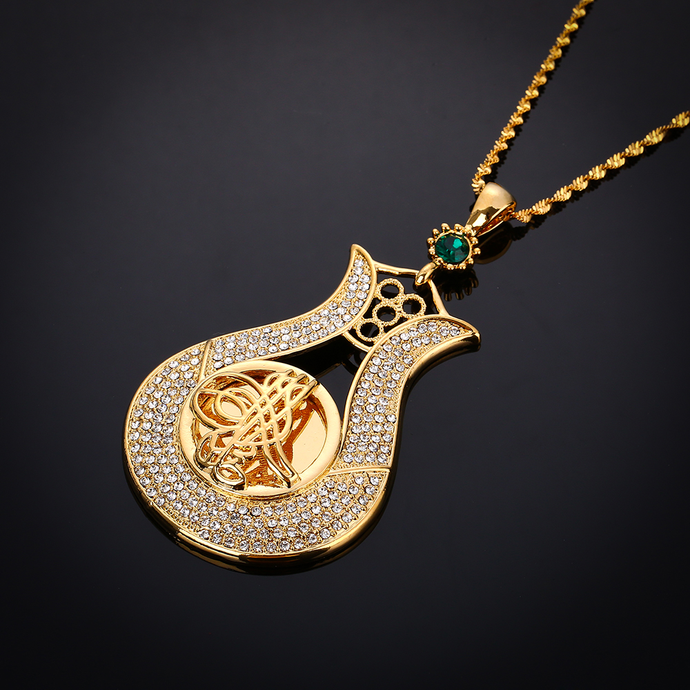Tulip Necklace Gold