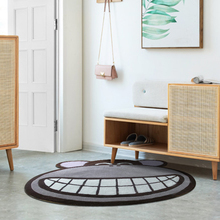 ALITEXTILEBTOC Cute Smiling Monkey Carpet Acrylic Material Carpets For Living Room Acceptable Customization