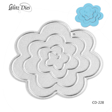 Metal Craft Dies Flowers Cutting for Scrapbooking Diray Album Embossing Painting Crsfts.