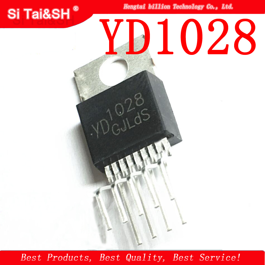 5pcs/lot YD1028 1028 TO-220 New Original  Two-channel Audio Power Amplifier Tube