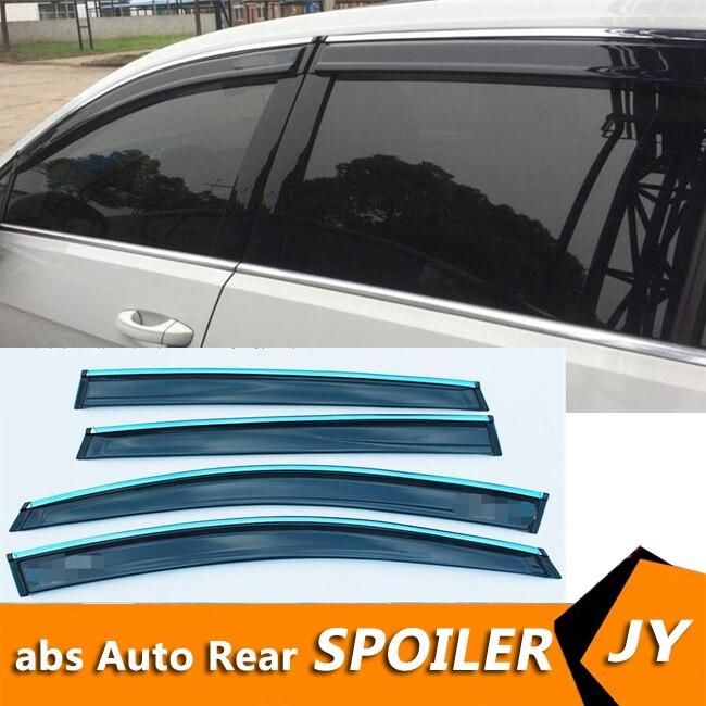 For Volkswagen MK7 Plastic Window Visor Vent Shades Sun Rain Deflector Guard For Golf 7 Auto Accessories 4PCS/SET 2014-2016