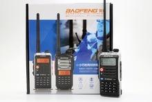 4pcs BaoFeng UV-B2 plus Walkie Talkie UHF VHF Dual Band UVB2+ CB Radio 128CH VOX Dual Display Transceiver Only for Russian