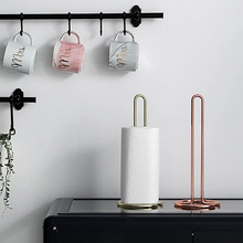 Creative Fashion Metal Removable Tissue Boxes Old Style Home Decor Luxury Shelf Hotel Canister Roll Holder