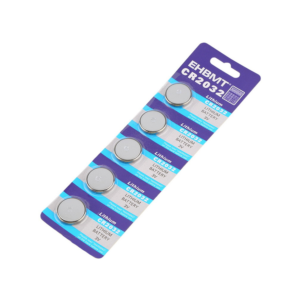 OUTAD 3V CR2032 5pcs Coin Button Cell Lithium Battery