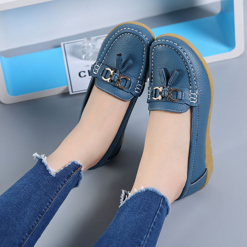 2018 Women Summer Shoes New Fashion Women Moccasins Flats Beach Fringe Flat Shoes Ladies Casual Shoes Female loafers CBT1021 34 43 big small size new 2016 summer fashion casual shoes moccasins bottom shoe platform flat for women s loafers ladies