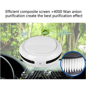 Image 3 - FA 818A Portable Car Anion Air Humidifier 3 5㎡ Area Aromatherapy Humidifier Car Air Cleaning Sterilizer Car air purifiers