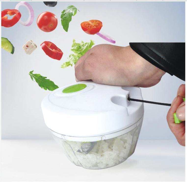 multifunctional kitchen hand manual food processor chopper mincer mixer blender fruit vegetable meat garlic crusher tools