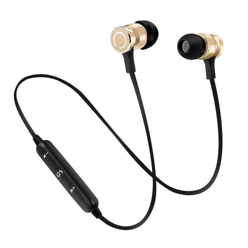 NewRixing Sports Wireless Bluetooth Earphone Headset Bass Stereo Running In-ear Sweatproof Earphone with Microphone Earpiece