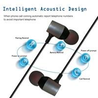 Hutmtech HT09 Super Bass Fones De Ouvido Bluetooth Esporte Em Fones De Ouvido Com Cancelamento de Ruído fone de Ouvido Estéreo Bluetooth Com Microfone