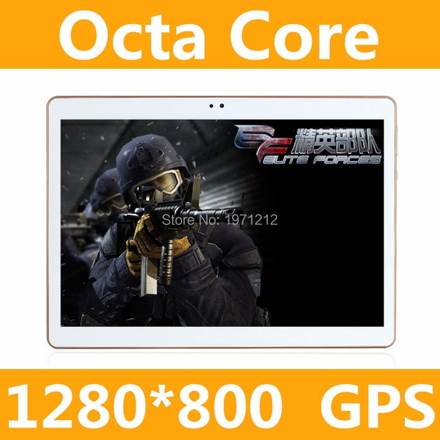 1280*800 2017 Newest 10 inch 3G 4G Tablet PC Ocat Core 4GB RAM 64GB ROM Dual SIM Card Android 5.1 IPS tablet PC 10