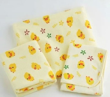 Large Baby Changing Mat 3 Size Baby Waterproof Changing Pad Urine Mat Cotton Waterproof Sheets For a Newborn Pad 70 x 120cm