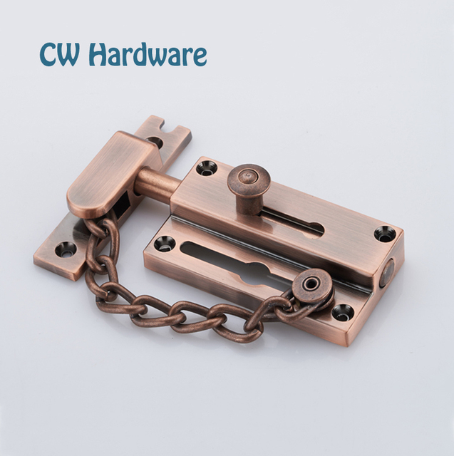 CW Hardware Zinc Alloy 3 inch 75mm Antique Copper Cabinet Slide ...