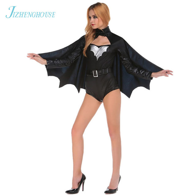 jizhenghouse animal cosplay cute bat costume halloween costumes for girls black jumpsuit wings batman clothing sc 1 st aliexpress