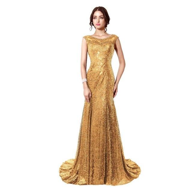 3b91edeaca7 Fashion 2017 Gold Sequin Prom Dresses Mermaid Long Red Evening Gown Plus  Size Prom Dress Blue Vestidos De Festa Robe De Soiree