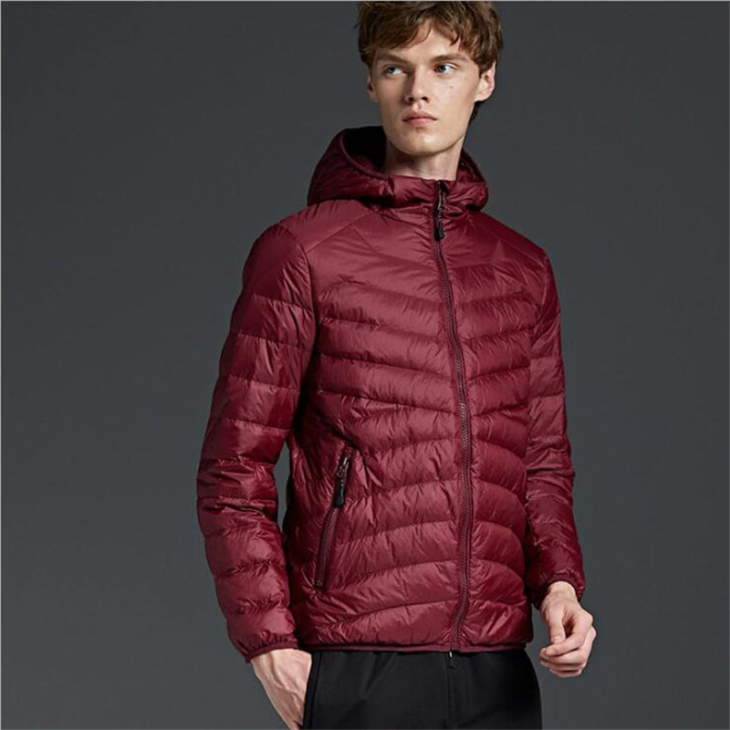 US $77.1 |AGRADECIDO Men Duck Down Jacket canada Doudoune Winter Jackets Mens Down Coat Black Gray Buy Jacket Get a FREE Baseball cap in Down Jackets