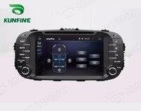 Octa Núcleo 2 GB RAM Android 6.0 Car DVD GPS Navigation Multimedia Player Do Carro de Som para KIA SOUL 2014 Rádio unidade central