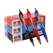 12pcs/box M&G Super popular press spring neutral pen GP-1350 0.5mm office special learning