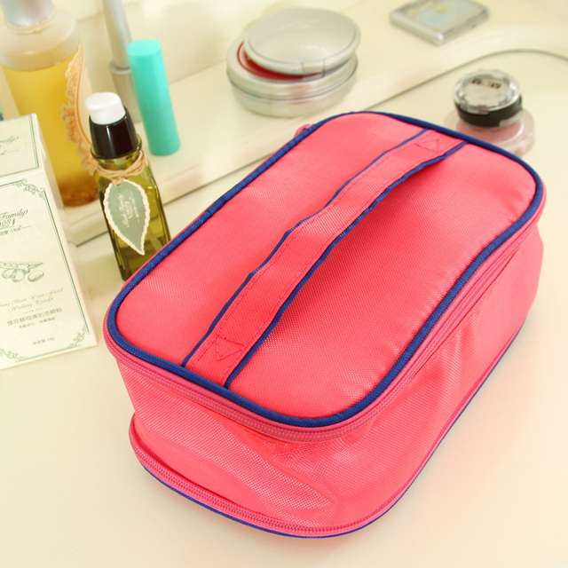 Boehner magic cube multifunctional cosmetic bag girls product